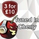 Tuned in Cherry E-Liquid by v-juice