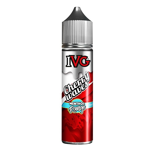 Menthol Range Cherry Waves by IVG