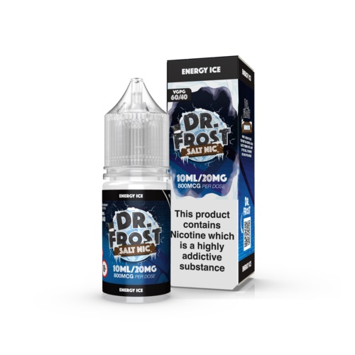 Energy Ice 10ml Nic Salt by Dr Frost