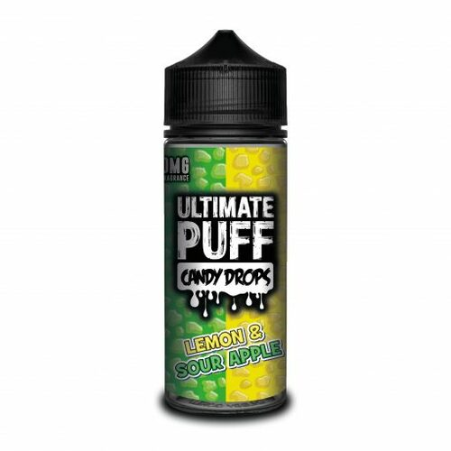 Lemon & Sour Apple Candy Drops by Ultimate Puff