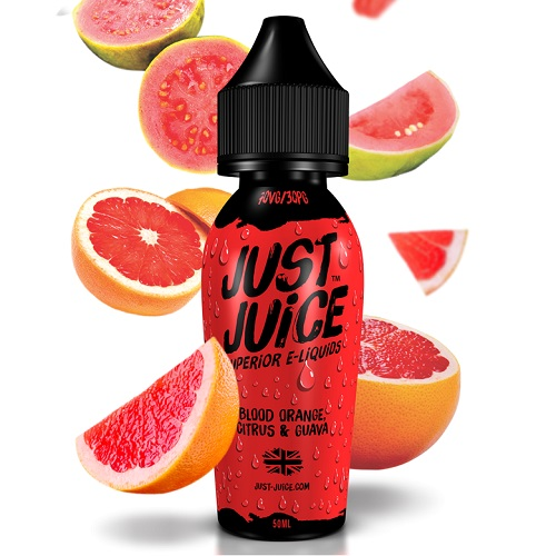 Blood Orange Citrus & Guava by Just Juice