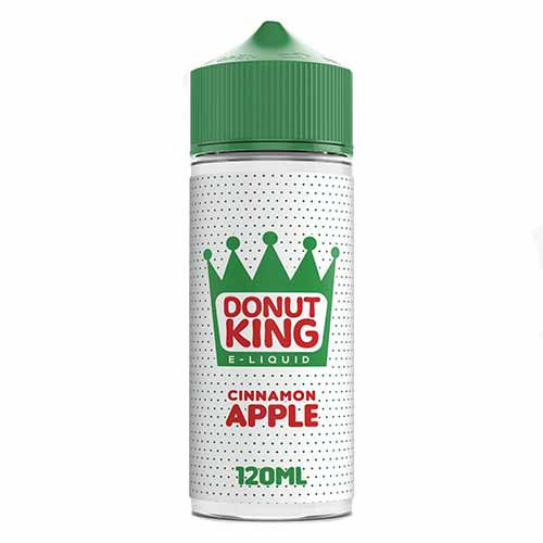 Donut King Cinnamon Apple - 100ml E-Liquid