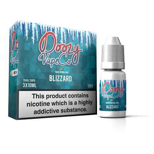 Blizzard E Liquid by Doozy Vape Co