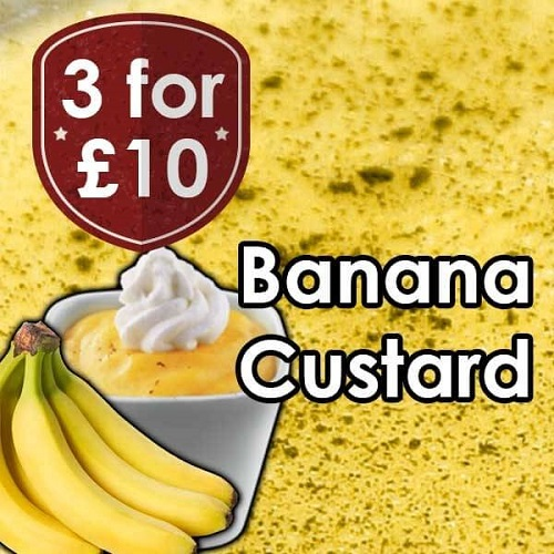 V-Juice Banana Custard E-Liquid