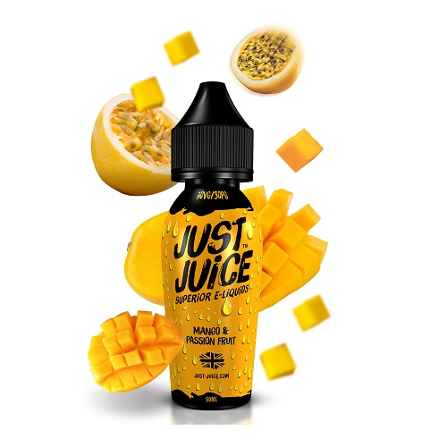 Mango & Passion fruit by Just Juice