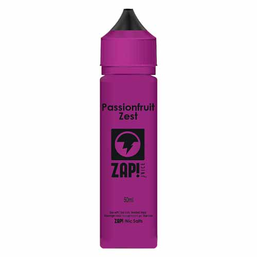 Passion Fruit Zest 50ml ZAP! Juice E Liquid
