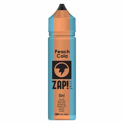 Peach Cola 50ml ZAP! Juice E Liquid