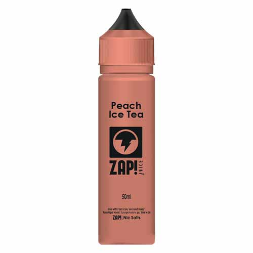 Peach Ice Tea 50ml ZAP! Juice E Liquid
