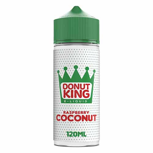Donut King Raspberry Coconut - 100ml E-Liquid