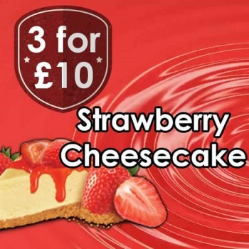 V-Juice Strawberry Cheesecake E-Liquid