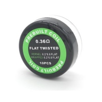 Prebuilt Flat Twisted Coils 0.36 Ohms