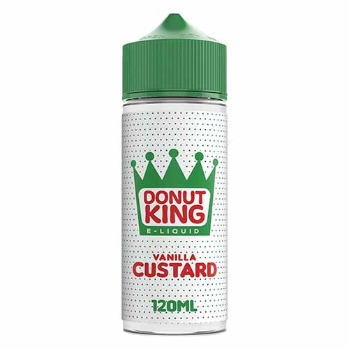 Donut King Vanilla Custard - 100ml E-Liquid
